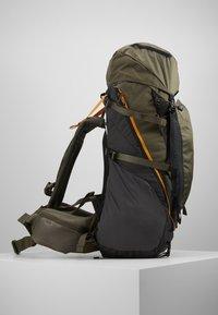The North Face - TERRA 55 - Mochila de trekking - dark grey heather/new taupe green - 3