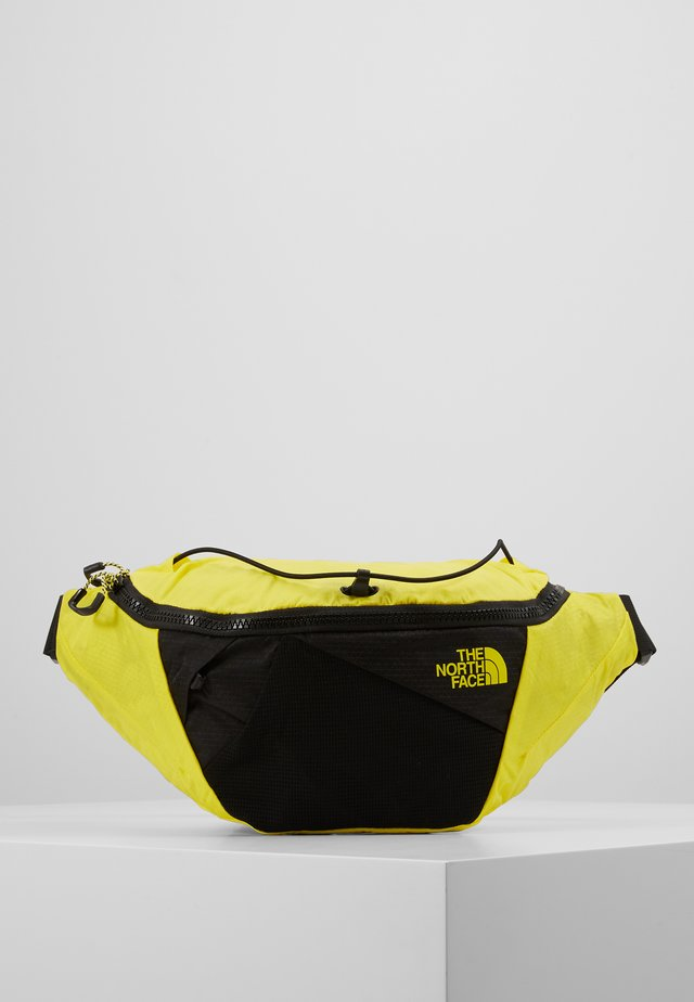 LUMBNICAL S - Gürteltasche - lemon/black