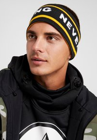 The North Face - CHIZZLER HEADBAND - Cache-oreilles - yellow/black - 1