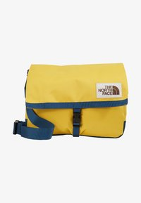 The North Face - BERKELEY SATCHEL - Across body bag - yellow/blue/teal - 1