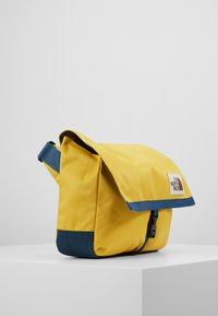 The North Face - BERKELEY SATCHEL - Across body bag - yellow/blue/teal - 4