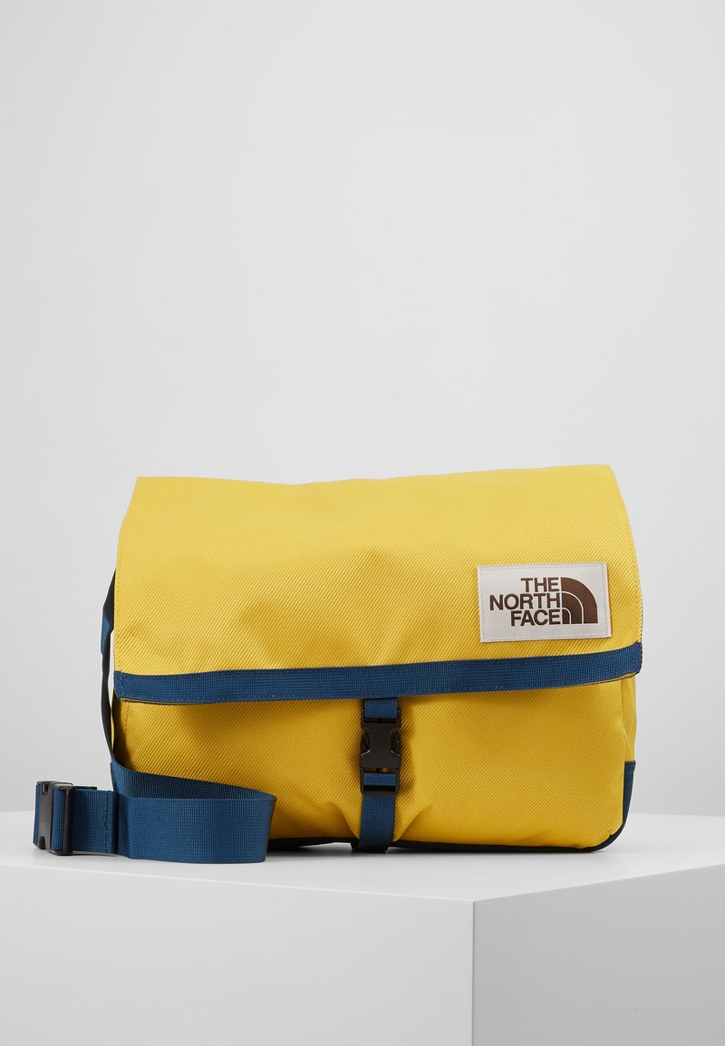 The North Face - BERKELEY SATCHEL - Across body bag - yellow/blue/teal
