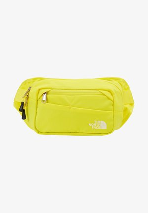BOZER HIP PACK - Bum bag - lemon/black