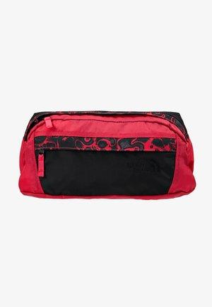 RAGE - Bum bag - rose red/black