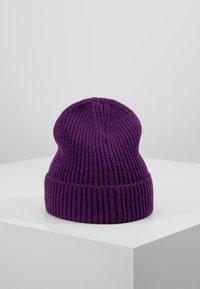 The North Face - LOGO BOX CUFFED BEANIE - Lue - hero purple - 2