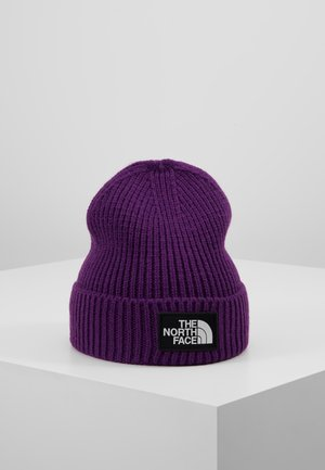LOGO BOX CUFFED BEANIE - Mütze - hero purple