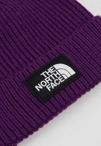 The North Face - LOGO BOX CUFFED BEANIE - Lue - hero purple - 4