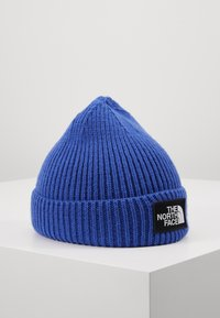 The North Face - LOGO BOX CUFFED BEANIE - Čepice - blue - 0