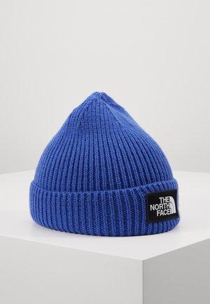 LOGO BOX CUFFED BEANIE - Berretto - blue