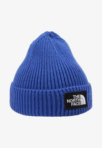The North Face - LOGO BOX CUFFED BEANIE - Čepice - blue