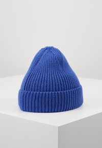 The North Face - LOGO BOX CUFFED BEANIE - Čepice - blue - 2