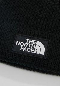 The North Face - LOGO BOX CUFFED BEANIE - Berretto - black - 4
