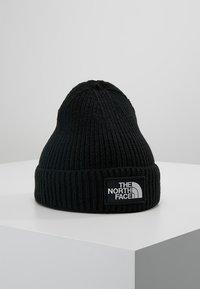 The North Face - LOGO BOX CUFFED BEANIE - Berretto - black - 0