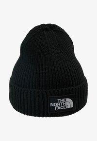 The North Face - LOGO BOX CUFFED BEANIE - Bonnet - black - 3