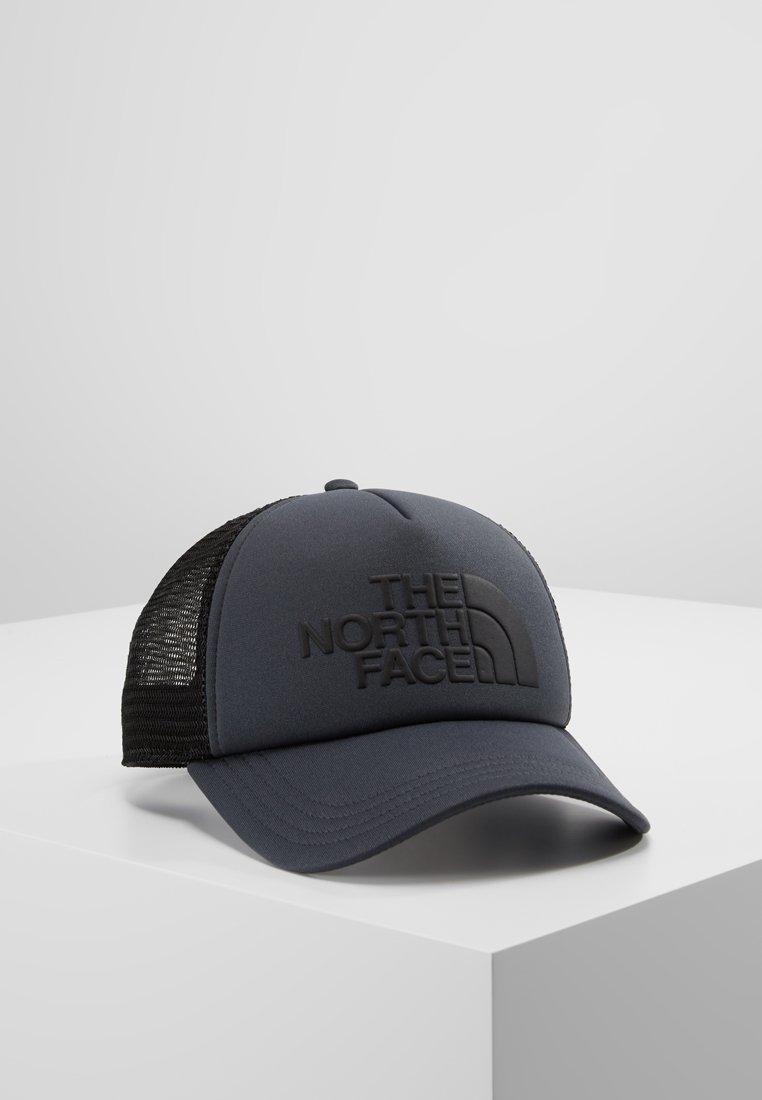 The North Face - LOGO TRUCKER - Cap - asphalt grey/black