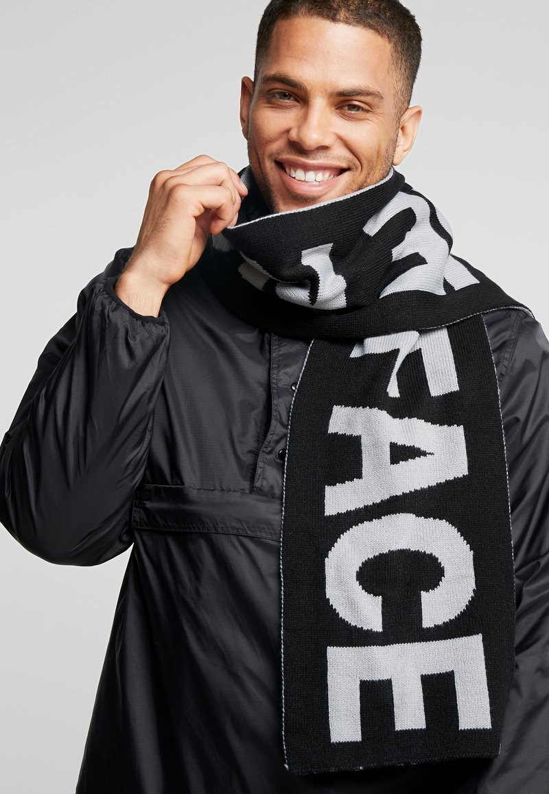 The North Face - LOGO SCARF - Bufanda - grey/black
