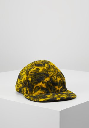 RAGETO BUY IN JAN - Czapka z daszkiem - black/leopard yellow