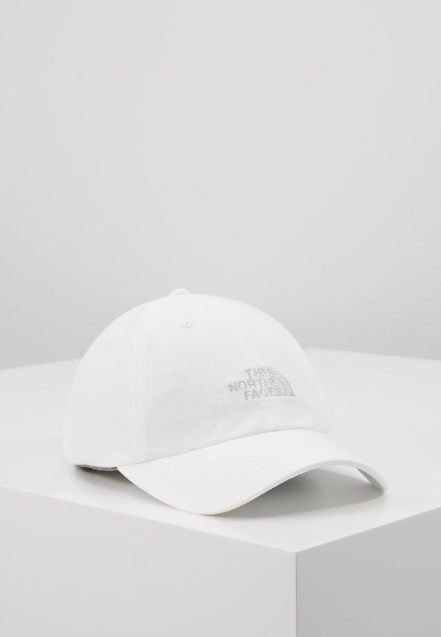 NORM HAT - Cap - tnf white