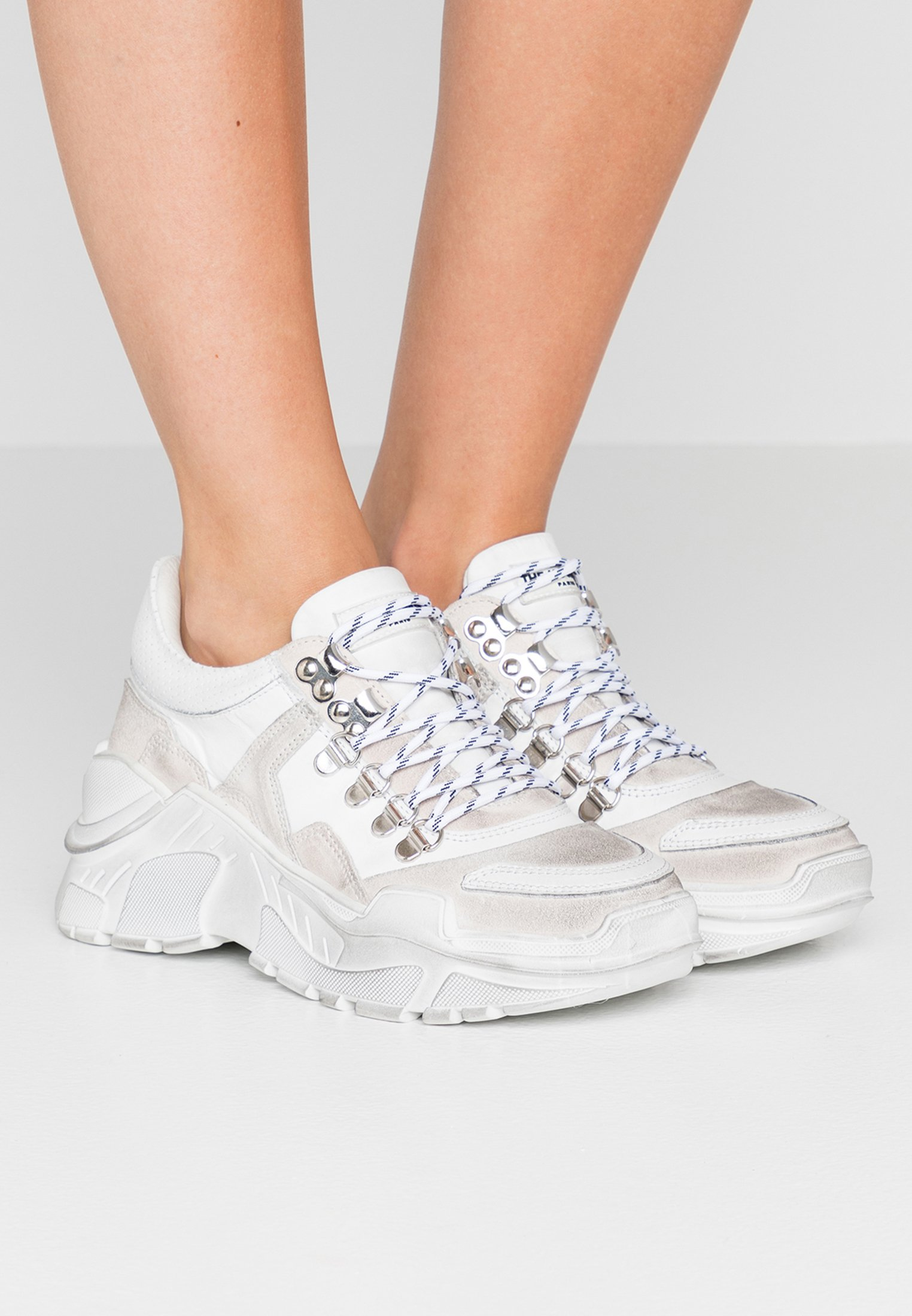 Baskets basses Kooples The white The dBrxoCe