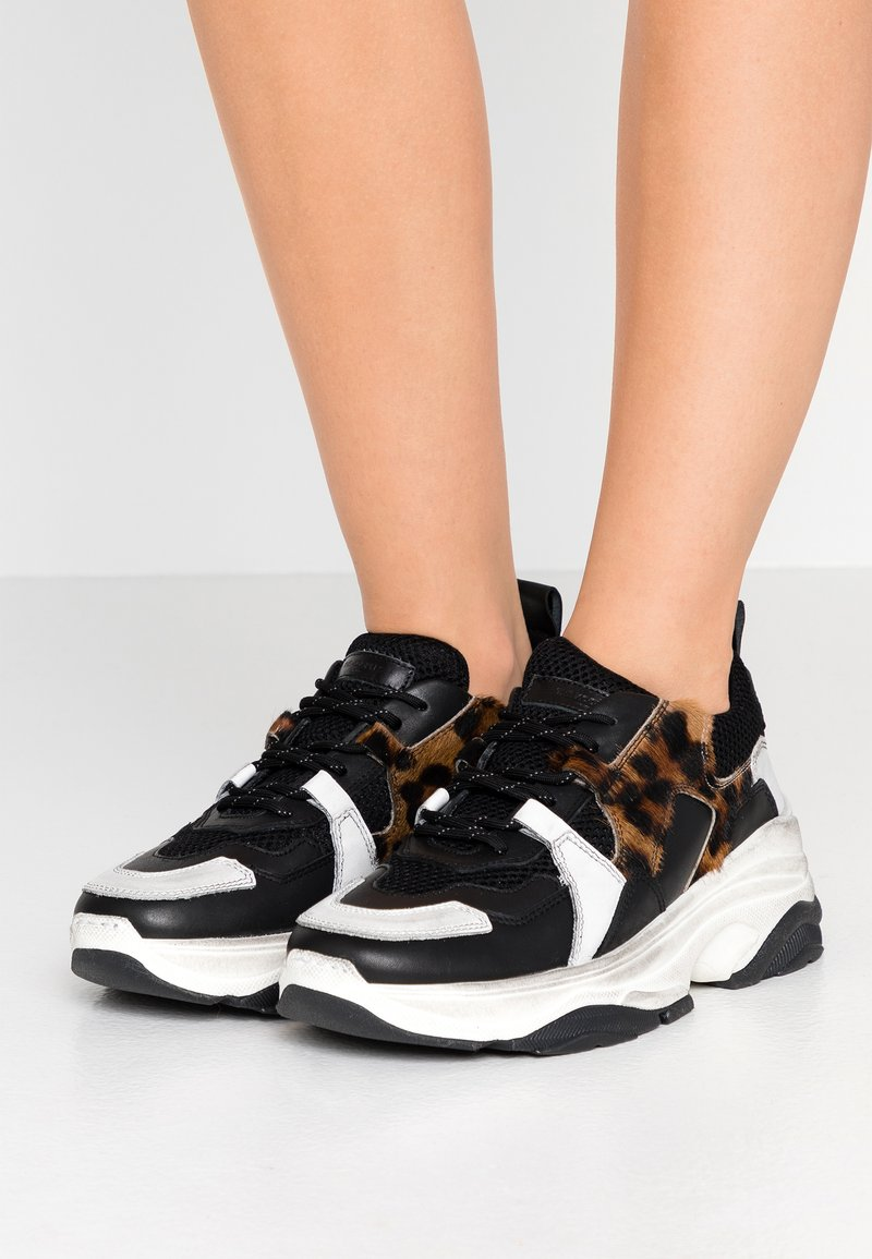 The Kooples - Trainers - black/white