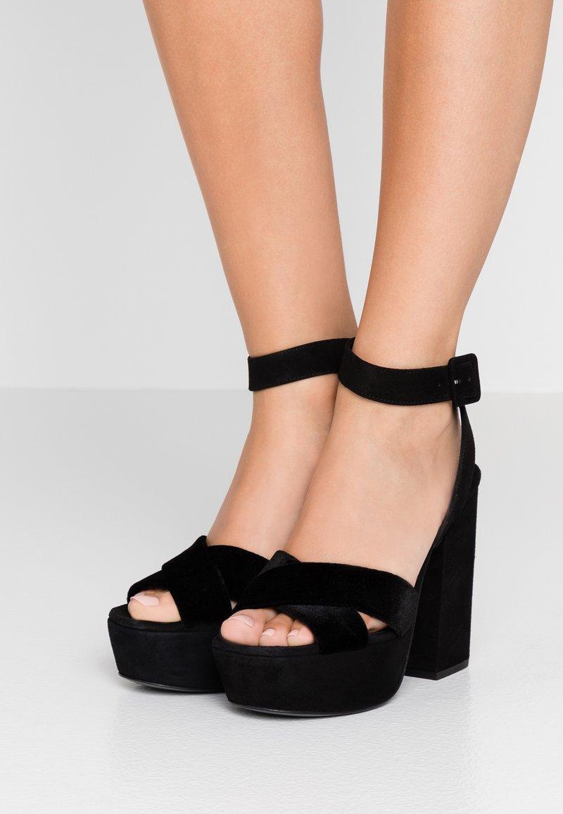 The Kooples - High Heel Sandalette - black