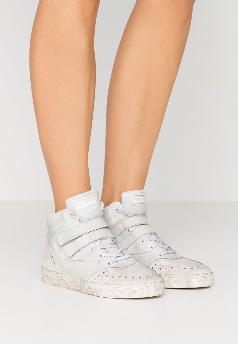 The Kooples - High-top trainers - white
