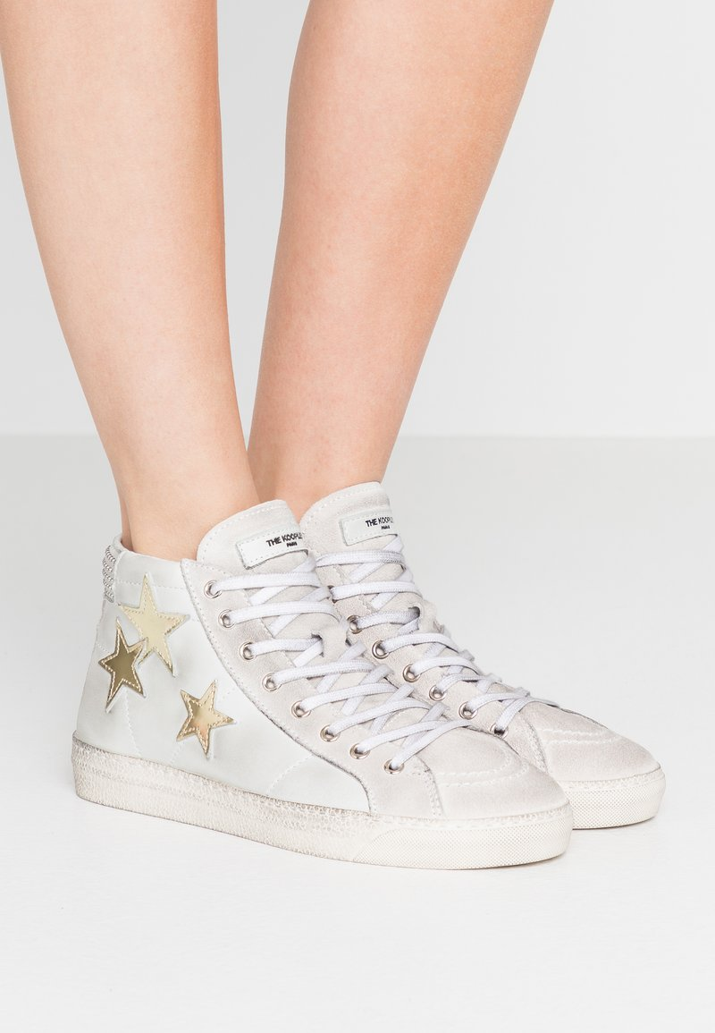 The Kooples - Sneakers alte - white