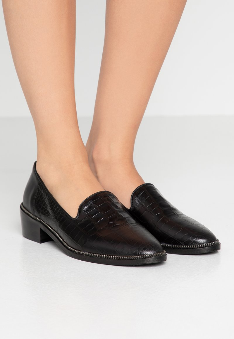 The Kooples - Loaferit/pistokkaat - black