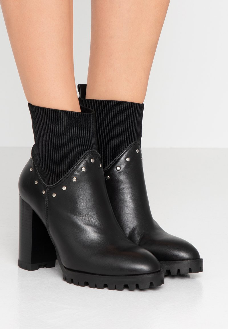 The Kooples - High heeled ankle boots - black