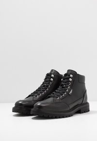 The Kooples - Šněrovací kotníkové boty - black - 2