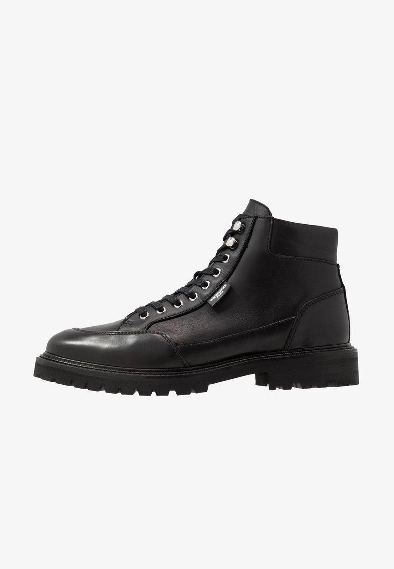 The Kooples - Šněrovací kotníkové boty - black