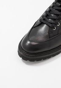 The Kooples - Šněrovací kotníkové boty - black - 5