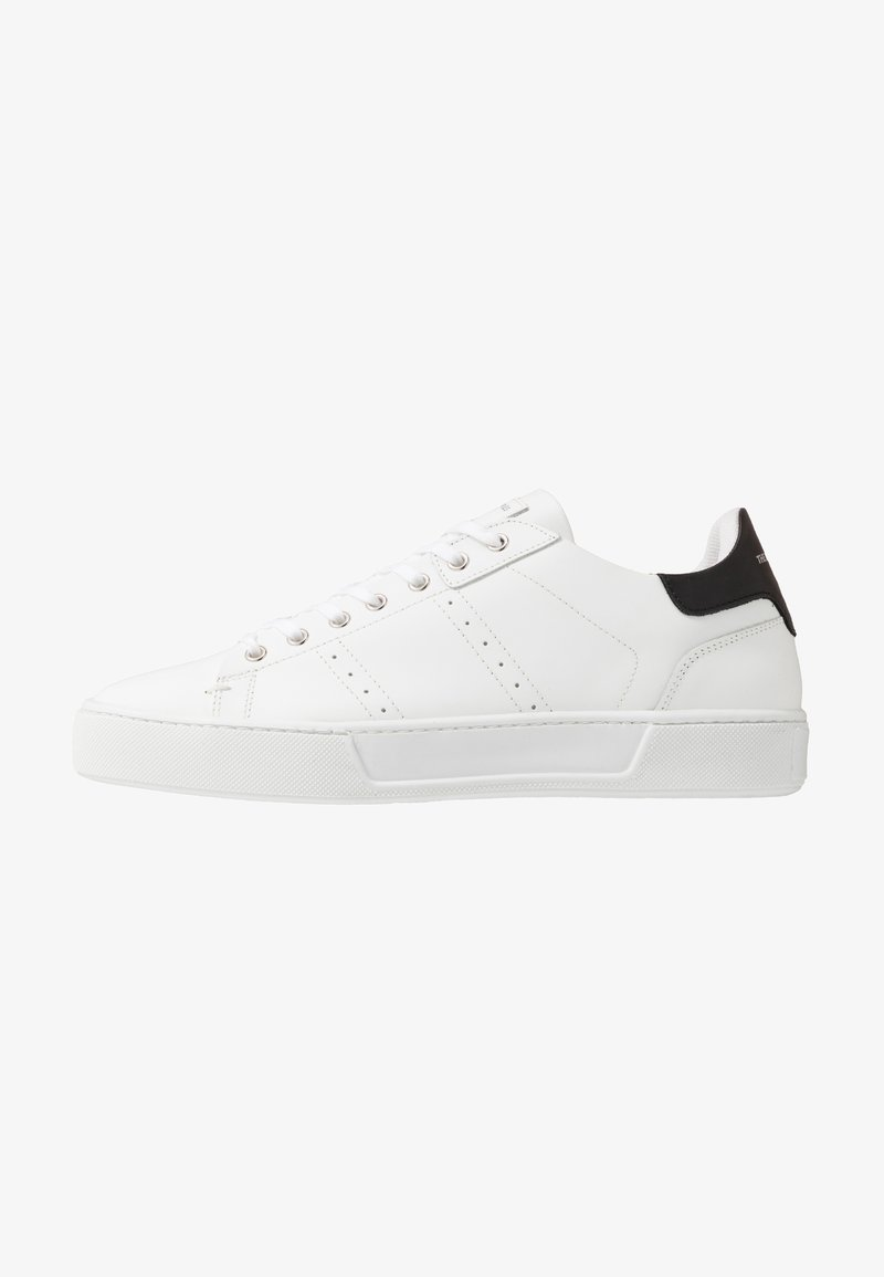 The Kooples - Baskets basses - white/black