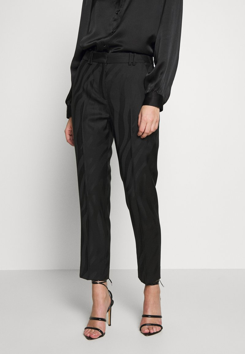 The Kooples - TROUSERS - Trousers - black