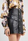 The Kooples - Leather skirt - black