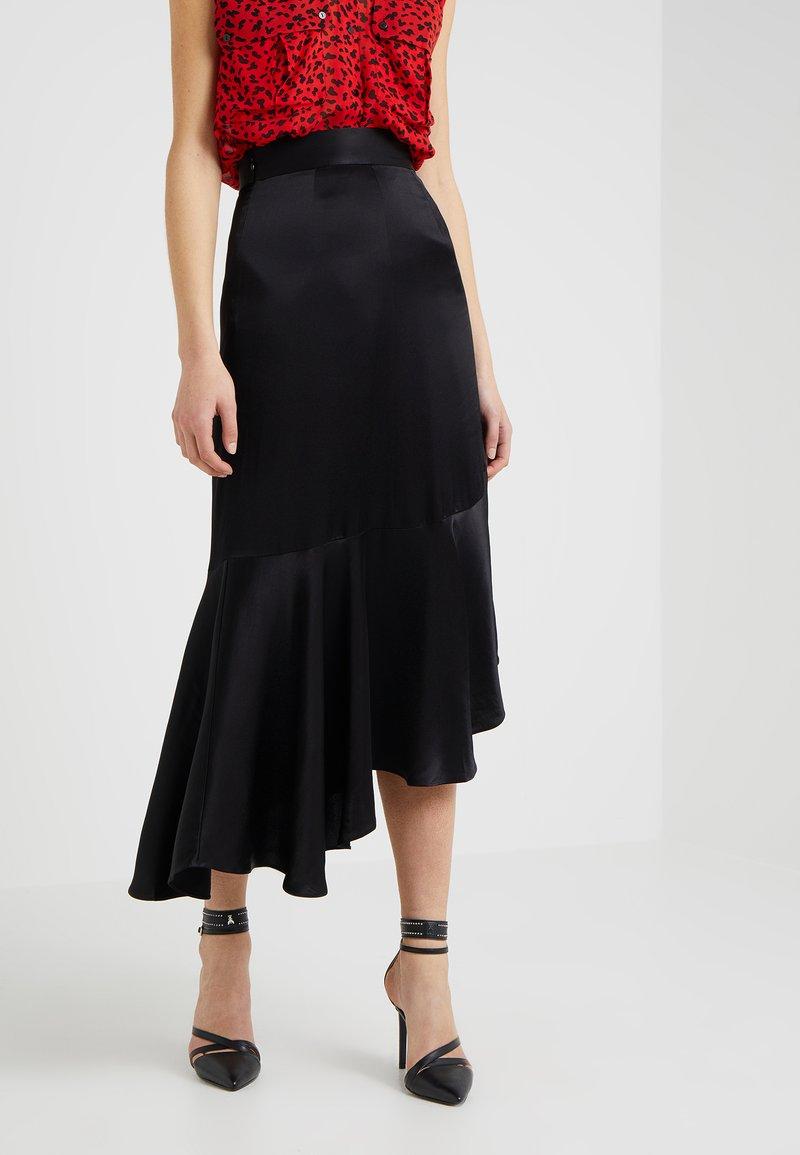 The Kooples - Wrap skirt - black