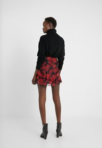 The Kooples - JUPE - A-snit nederdel/ A-formede nederdele - red/black - 2