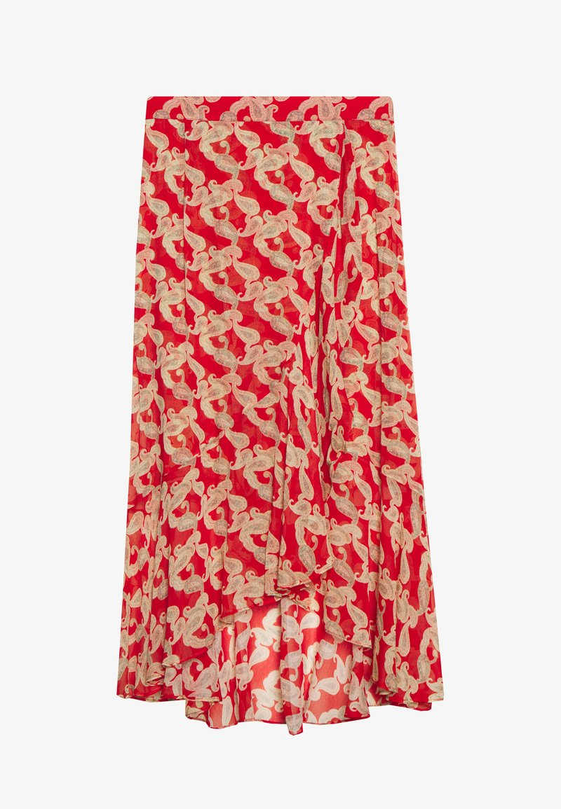 The Kooples - JUPE - A-line skirt - red