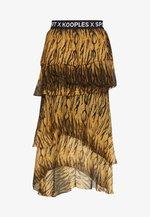 JUPE - A-line skirt - brown