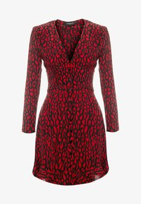 The Kooples - FROB - Sukienka letnia - black/red - 3