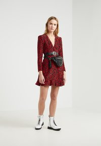 The Kooples - FROB - Sukienka letnia - black/red - 1