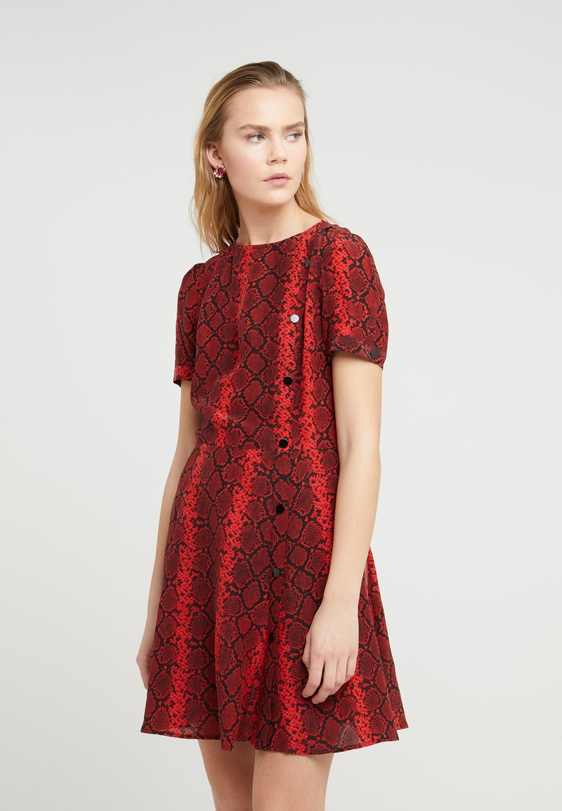 The Kooples - Day dress - red