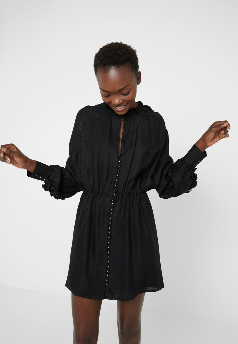 The Kooples - ROBE - Cocktailkjoler / festkjoler - black