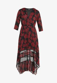 The Kooples - ROBE LONGUE - Day dress - red/black - 4