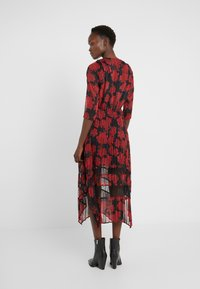 The Kooples - ROBE LONGUE - Day dress - red/black - 2