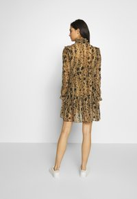 The Kooples - ROBE - Day dress - black/beige