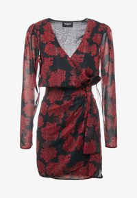The Kooples - ROBE COURTE - Cocktail dress / Party dress - red/black - 3