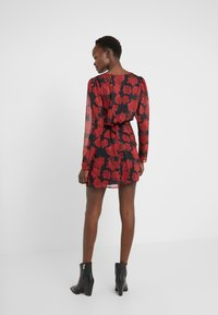 The Kooples - ROBE COURTE - Cocktail dress / Party dress - red/black - 2