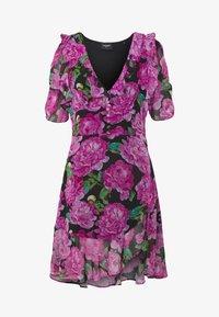 The Kooples - ROBE - Day dress - black/pink - 4