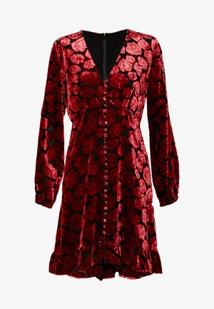 ROBE - Sukienka letnia - black/red
